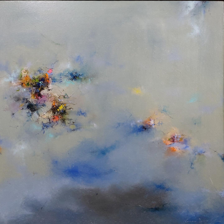 010, 권영범, 어떤 여행(Un Voyage), 100 x 100 cm