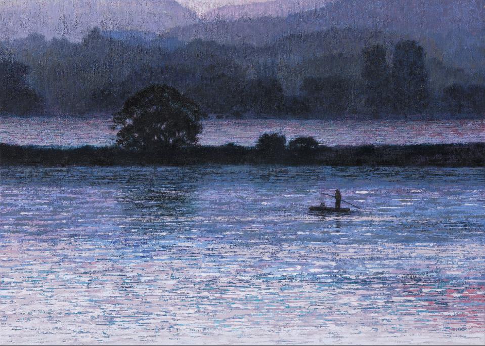 이미경 흐르는 시간ㅡ나를 찾아서 65X91cm oil on canvas
