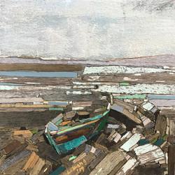 012, 이부강, trace 233-20, 20 x 20 cm, Mixe