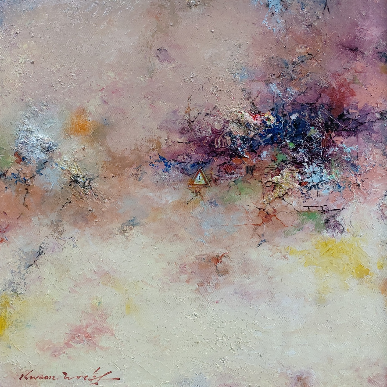 003, 권영범, 어떤 여행(Un Voyage), 35 x 35 cm,