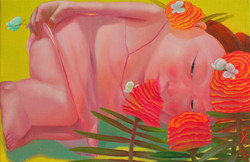 그녀의 정원 24x 36.5 oil on canvas 2019