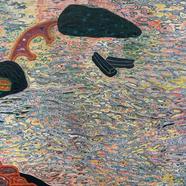 002, 통영풍경, 184x61cm, Mixed material, 201