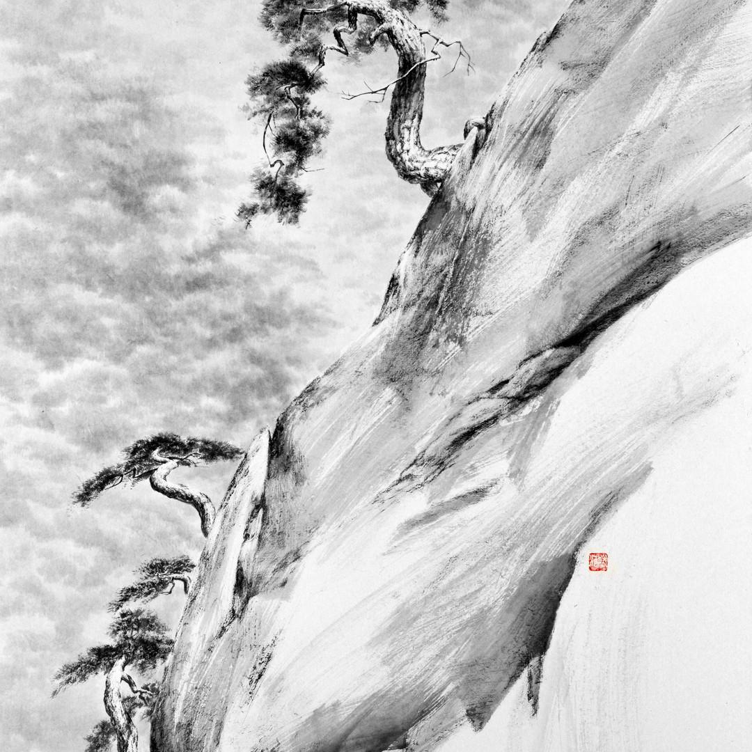 008, 송뢰, 100x72.2cm, Muk on HanJi, 2016.