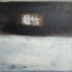 011, 이윤정, Tranquil Solitude, 97 x 97 cm,