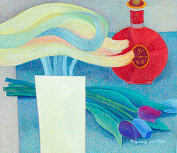 레미마틴.53×45.5.oil on canvas.2005