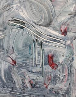 015, 정의철, 혼돈SPACE, 116.8 x 91.0 cm, Acrylic, 2021, 600만원