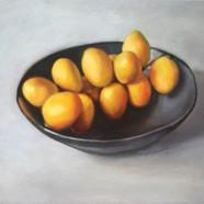 025, 비파, 45 x 38 cm, oil on canvas, 2020
