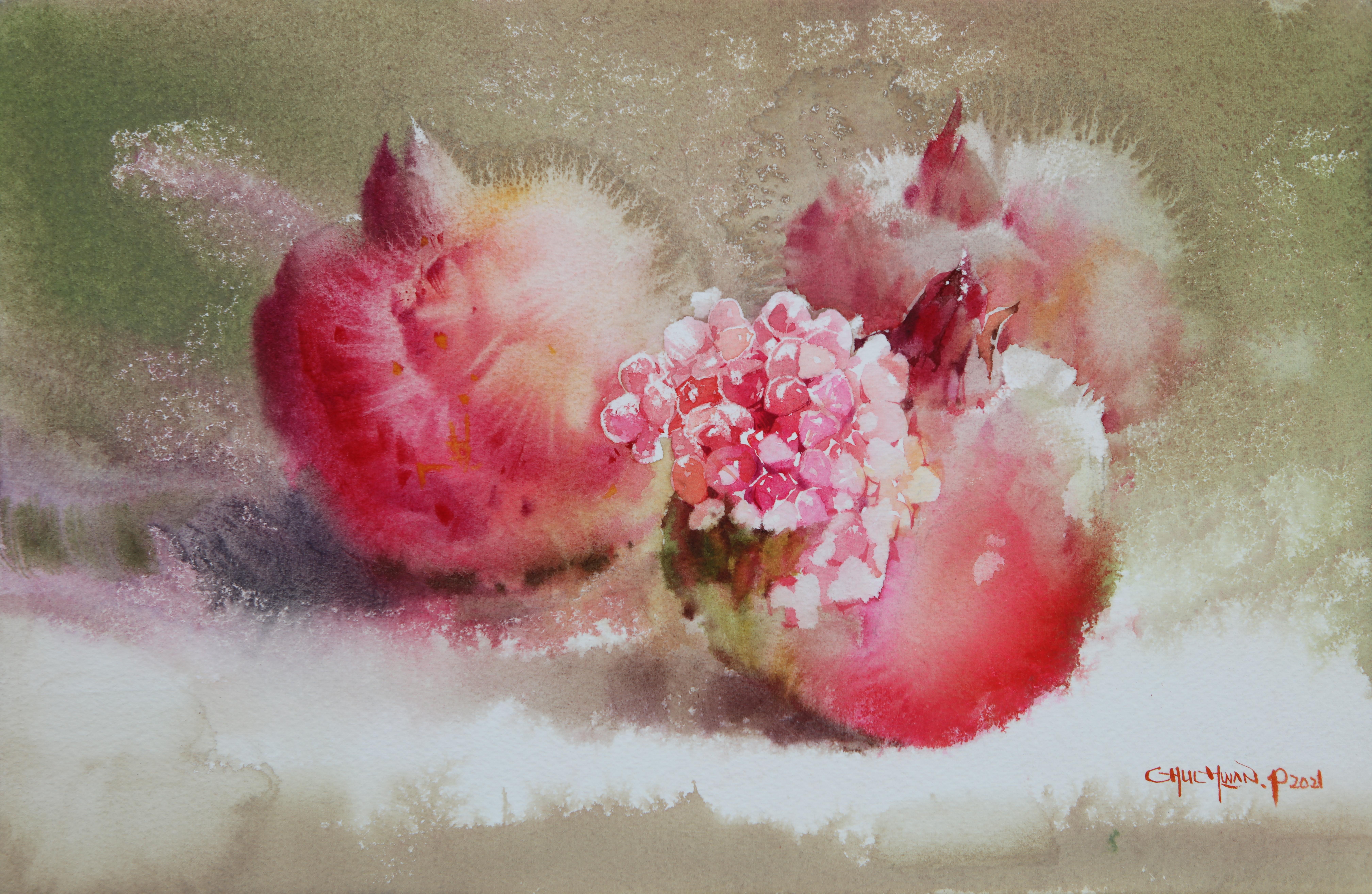 003, 박철환, Pomegranate, 27.3 x 40