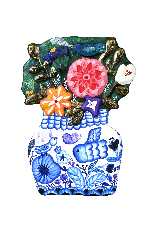 구채연1, 꽃피는 봄, 24.0 x 33