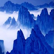 001 청산사유(1275봉1) 162cmx130cm canvas on a