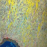 008, 김재신, 동피랑이야기, 61 x 98 cm (30호), 나무판 위에 색 조각, 2018, 1200만원