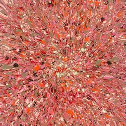 Energy Generation 180518, 130x130x2.5cm, Acrylic on Canvas, 2018