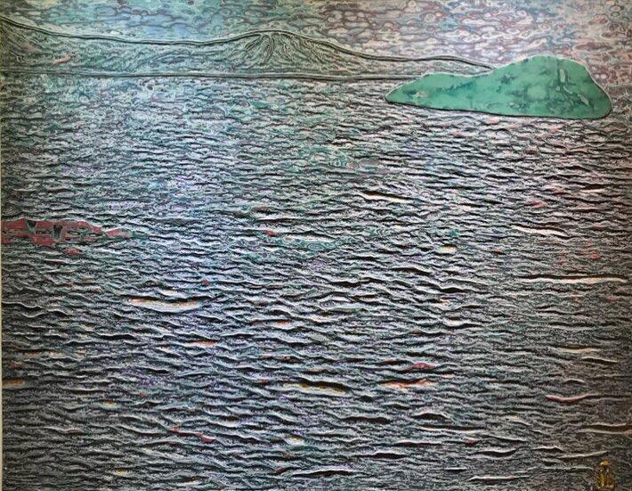 013, 김재신, 바다, 116.5 x 90