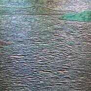 013, 김재신, 바다, 116.5 x 90.5 cm (50호), 나무판 위에 색 조각, 2019, 2000만원