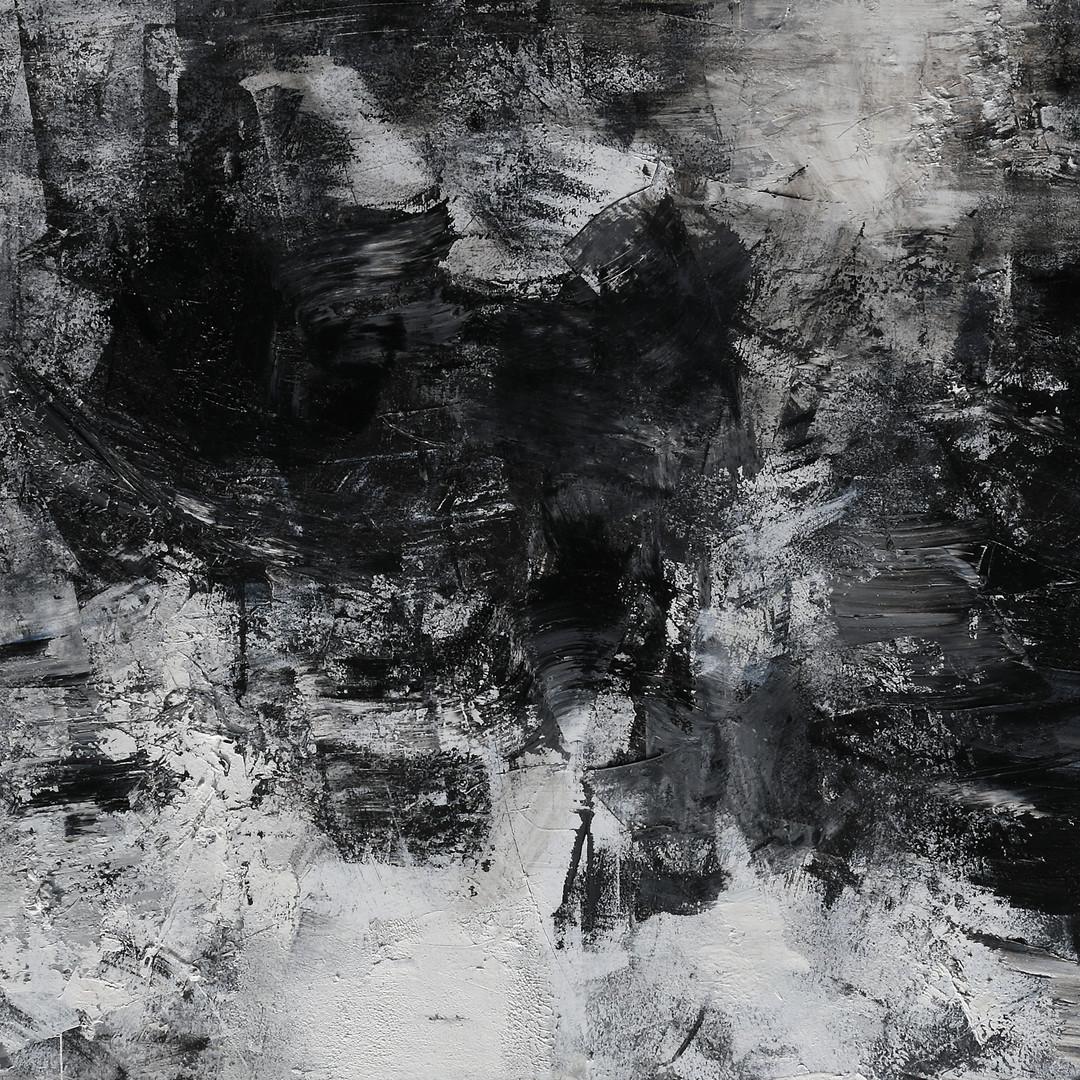 006, 연상록, 재너머 가는 길 -冬 1-, 180 x 70 cm, 오