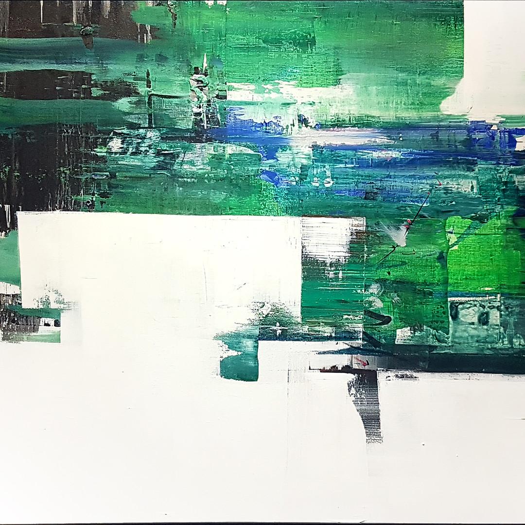 023, 연상록, 기억의 소환(초하) Ⅱ, 90.9 x 72.7 cm (