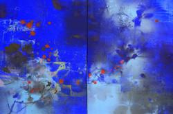 연상록-숲,빛,바람의 숨결, 53x45.5cm, 2015, Acrylic on canvas_3