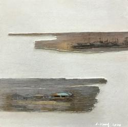 이부강5-1, trace layers, 30 x 30 cm, mixed