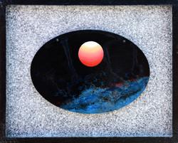 Sunrise - Faith,  Hope  and  Love, 50x40.5cm,  Acrylic , mixture  on  Wood, 2016