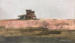 이부강3, trace skyline 24, 36 x 21 cm, mixe