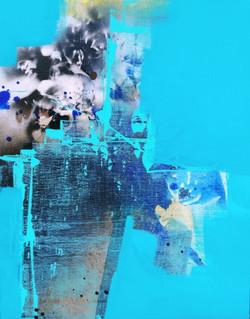 연상록1, 기억의 소환(초하) Ⅰ, 32 x 41 cm (6F), 아크릴