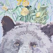025, 박계숙, 나르시스의 정원-8, 23 x 34 cm, 캔버스에 아