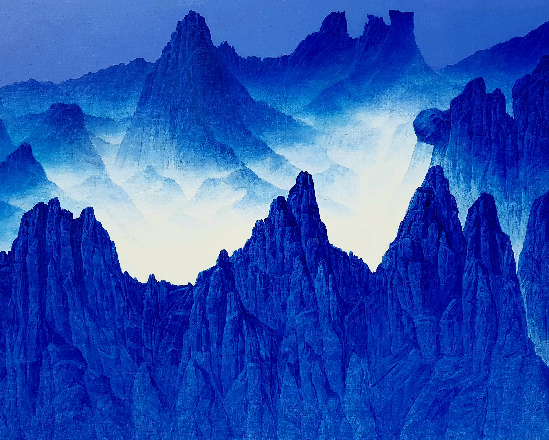 조광기 청산사유 (1275봉2) 162cmx130cm canvas on acrylic2018