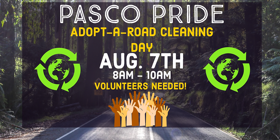 August Adopt-a-Road Clean up!