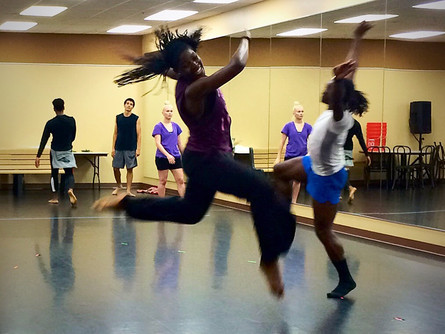Award-winning Dayton Contemporary Dance Company dancers return to studios