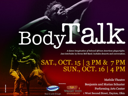 DCDC season opener Body Talk will draw from African-American playwrights & the West African trad
