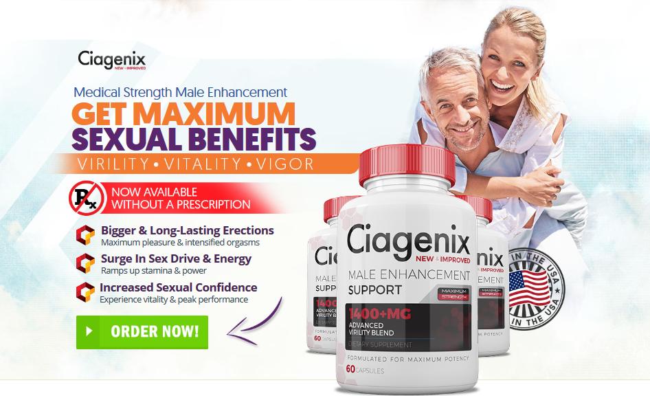 Ciagenix | Ciagenix Male Enhancement | Special Offer!