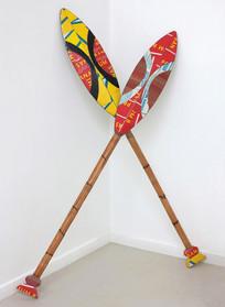 Paddles Nos. 1 & 2, 2013