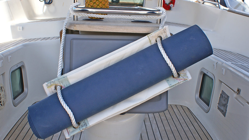 Handmade Yoga Bag Recycled Sail Unique Yoga Gear Yoga Mat Carrier Bag