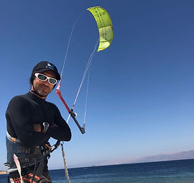 KIteboard Kitesurf H&S WaterSports Aqaba, Jordan Red Sea