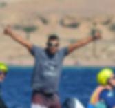 Kitesufing kiteboarding H&S Water Sports Aqaba Jordan Red Sea