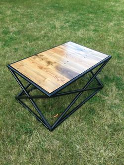 Custom welded coffee table