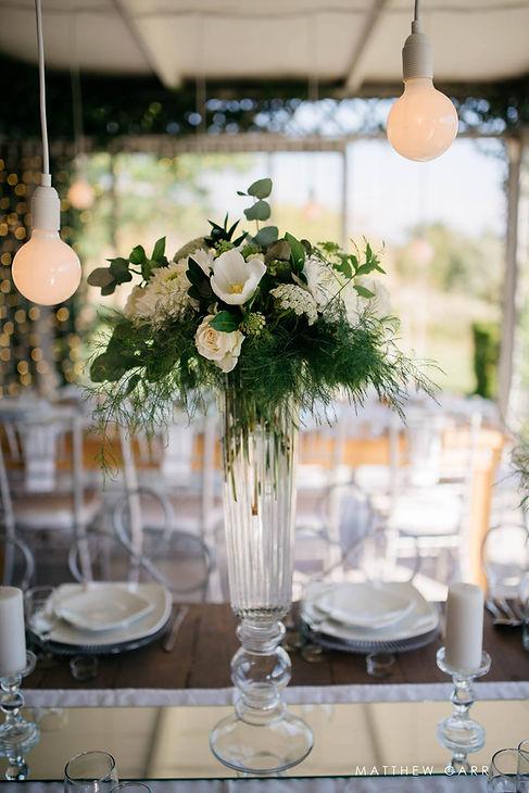Wedding decor Belair Paarl