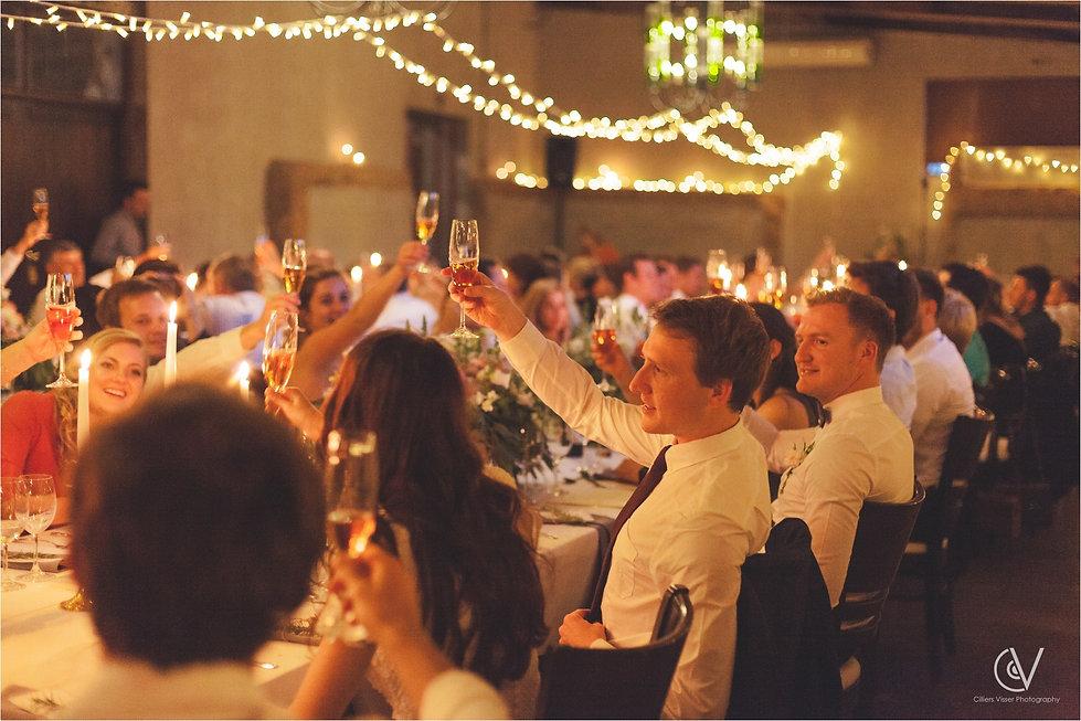 wedding lighting Cape Town