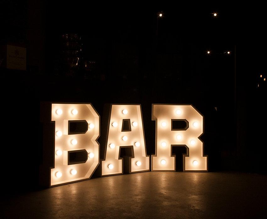 Bar Sign Cape Town