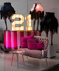 21 number lights Cape Town