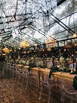 Die Woud wedding lights