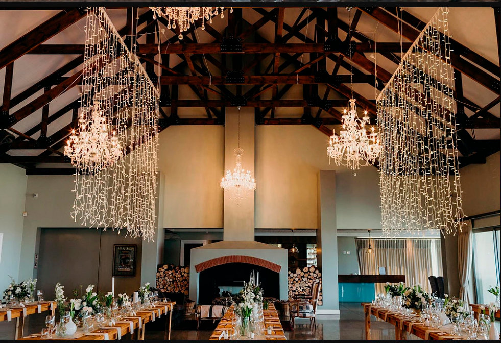 Fairy light curtains to rent Cape Town