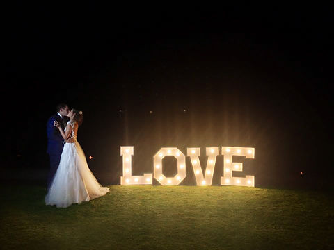 love lights to hire Cape Town