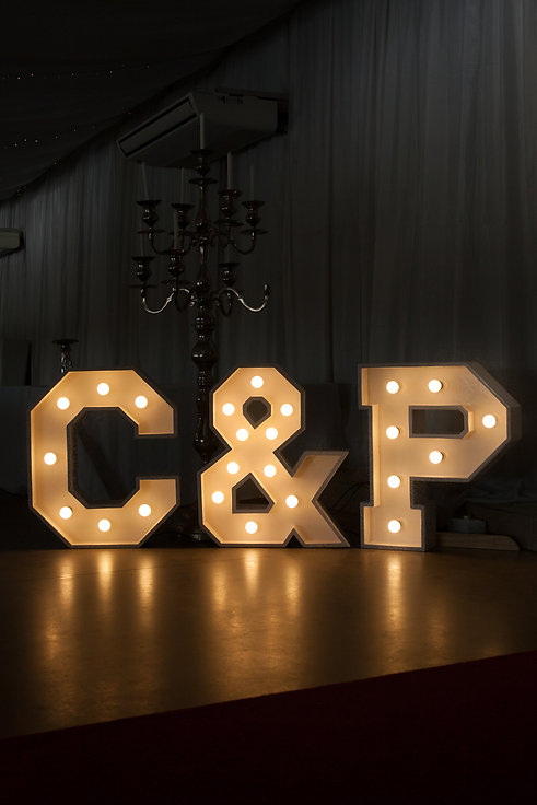 Initial letter lights