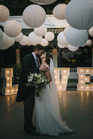 Molenvliet wedding lights