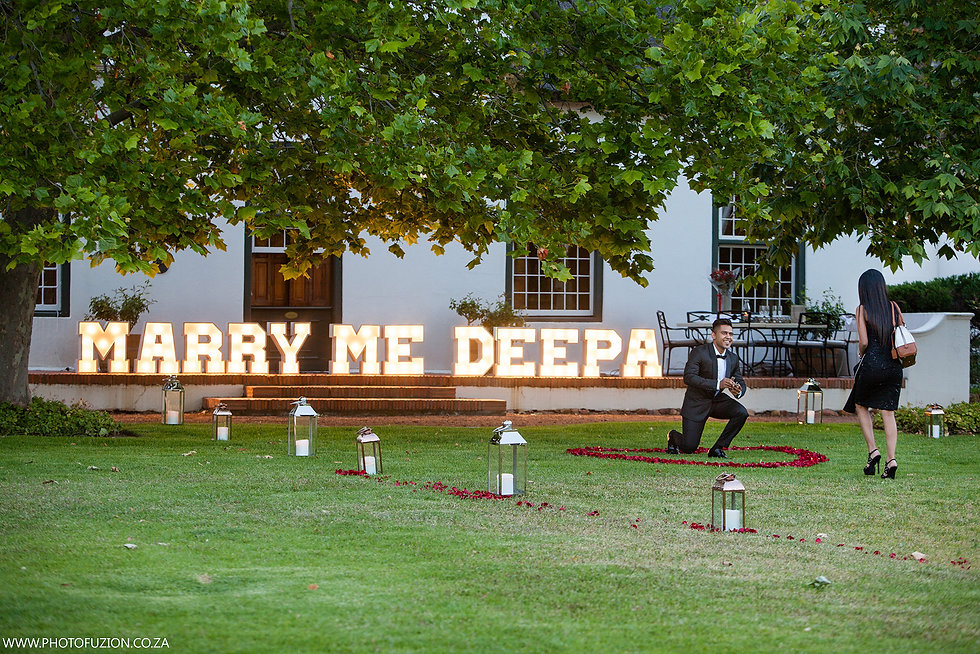 Wedding lighting hire Cape Town