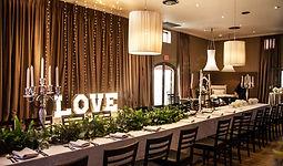 D'aria Venue Cape Town Love Sign