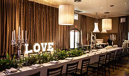 D'aria Venue Cape Town Love Sign