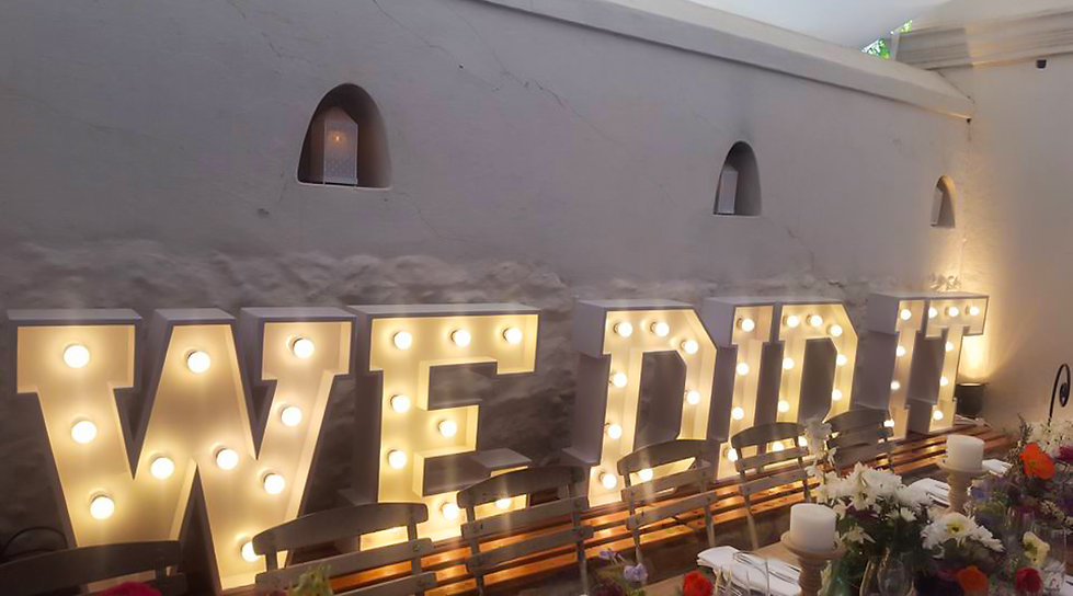 Marquee lights hire Cape Town