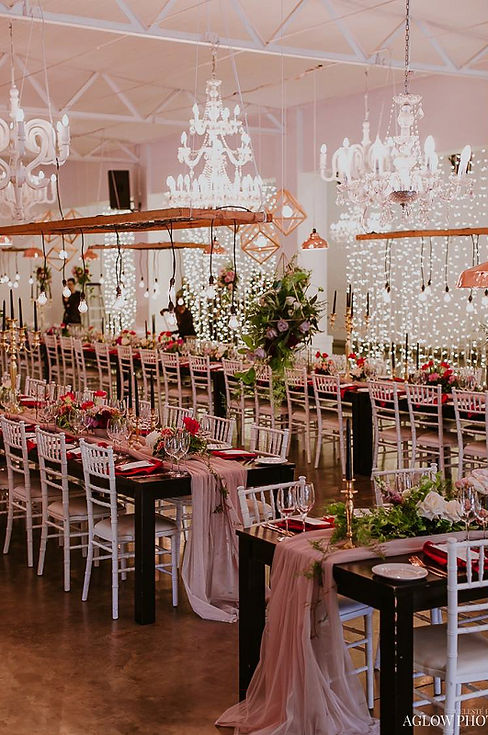 Molenvliet wedding decor